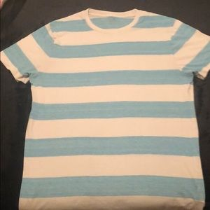 Baby blue stripped tee